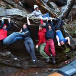 Bouldern und Skitouren41