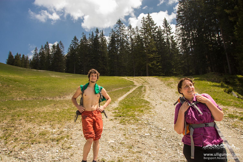 Friedberger Klettersteig : Stur aber nicht bös gemeint friedberger klettersteig