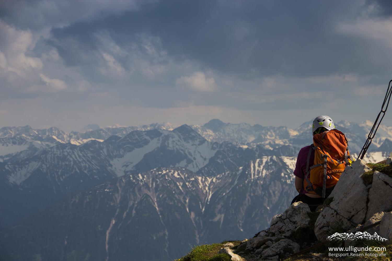 Klettersteig Tannheimer Tal : Stur aber nicht bös gemeint friedberger klettersteig