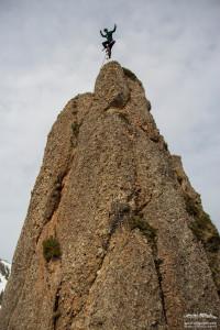 Klettern an der Siplinger Nadel