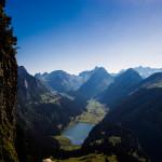 Blick ins Alpstein Gebiet