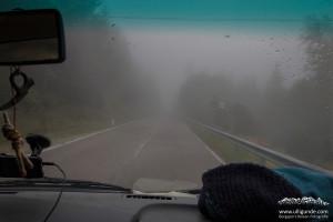 Schlechtes Wetter, selbst in Arco