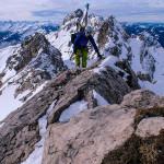 Hindelanger Klettersteig im Winter