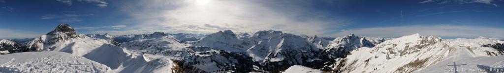 Höferspitze Gipfelpanorama (c) Immanuel Rapp Photography