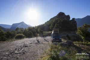 Trailrunning bei Coll de Nargo