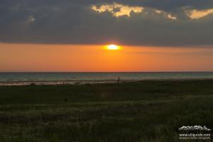 ...und an Dänemarks nördlichstem Punkt scheint die Sonne, es ist wirklich warm.