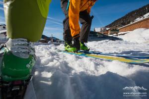 Ski anschnallen und los gehts!