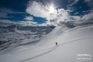 Skitour Glattwang von Fideris aus
