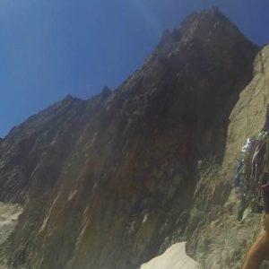 Klettern Galengrat Verschneidung Furka