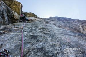 Besser nichts lostreten! Alpenland, Alpinklettern Zillertal