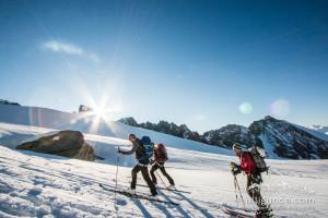 Aufstieg zum Glockner mit Ski