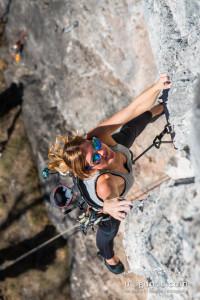 Nur wer stürzen kann, kann am Limit klettern.