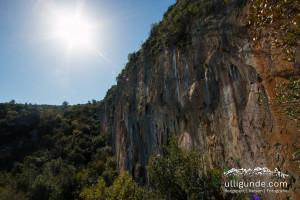 Klettern in der Türkei.
