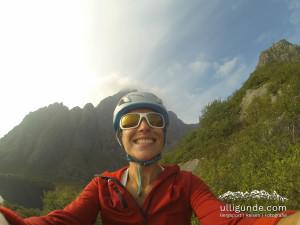 Hauptsache Freude beim Klettern!