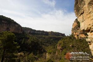 Die Felsen von Siurana, Spanien