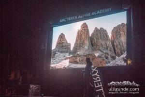 EOFT in Klein. die Movie-Night bei der Acteryx Alpine Academy.