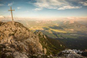 Gipfelblick von der Gehrenspitze.