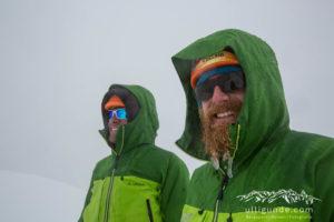 Die zwei Bergführer Peter Albert und Andi Thomann.
