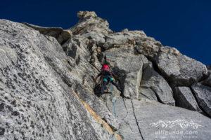 Here we go! Großartige Tour über den Südpfeiler an der Hochalmspitze.