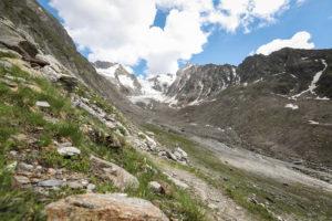Wanderung Gletscher Hohe Mut Abstieg