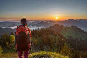 Sonnenaufgang Allgäu