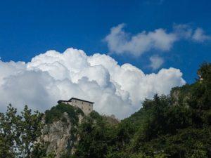 Gewitter Idrosee Italien