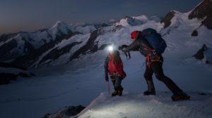 Filmdreh Gletscher Mönch