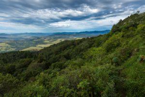 Aussicht Amatola Gebirge Trekking