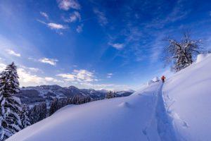 Skitour Gunzesrieder Tal
