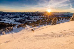 Skitour Sonnenaufgang Powder