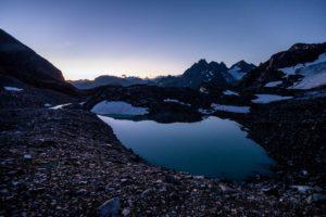 Sonnenaufgang Silvretta See