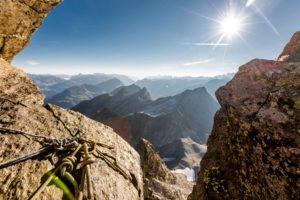 Stand Klettern Schlaghaken Silvretta