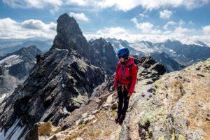 Aufstieg Großes Seehorn Hintergrund Großlitzner