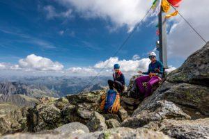 Großes Seehorn Gipfel Mädelsseilschaft