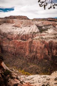 (Wanderung Zion National Park Observation Point)
