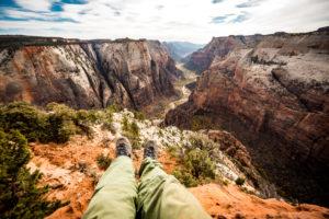 Wanderung Observation Point Zion National Park