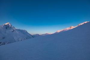 Sonnenaufgang Wildspitze Vent Skitour