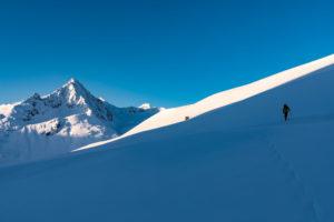 Licht Schatten Skitour