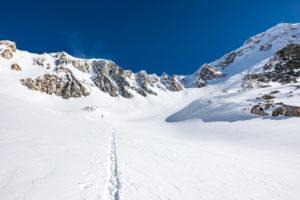 Windfahnen Skitour