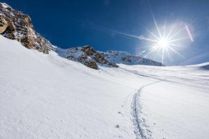 Schneerinne Mitterkar Mitterkarjoch Wildspitze