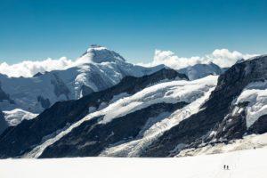 Aletschhorn Berner Oberland Gletscher