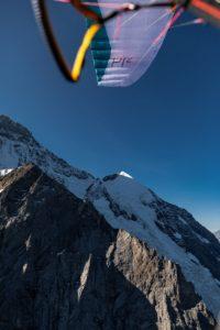 Gleitschirm Pi2 Gletscher Mönch Jungfrau