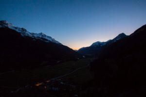Sonnenaufgang Lechtal Canon 5D Mark4