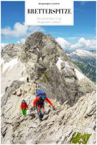 Bretterspitze Grat Allgäu Bergsteigen Klettern Bergtour