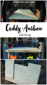 Caddy-Ausbau Minimalistisch Bau-Anleitung einfach