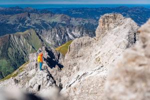 Trad25 Testbericht Rucksack Bergsteigen Tagestour