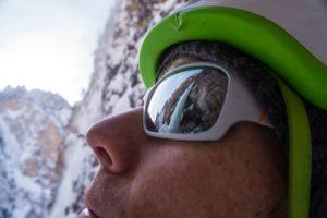 Julbo Eyewear beim Eisklettern