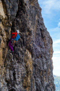 Fedele Dibona Pordoi Klettern