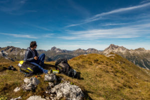 Brotzeit Wandern Rab Microlight Summit