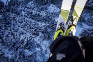 Gleitschirm Ski Wald Advance Pi2 Völkl Arcteryx Skistiefel